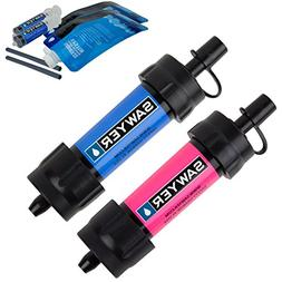 Sawyer Products SP2102 MINI Water Filtration System, 2 Pack,