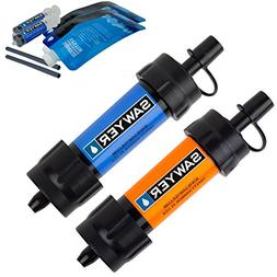 Sawyer SP2103 Blue/Orange Filter Twin Pack Drinking Pouch -