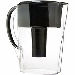 Space Pitcher Water Filters Saver Pitcher-Black-6 Cup Health