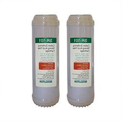 "Reverse Osmosis Revolution SR101 10""x2.5"" Cation Resin Softe"