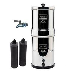 Travel Berkey Stainless Steel Water Filtration System w/ STA