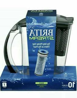 Brita Stream Water Filter Pitcher BPA Free - Filter As You P