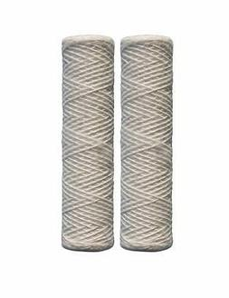 String Wound Universal Whole House 10 Inch Filters 2 Pack