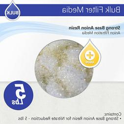 Strong Base Anion Resin for Nitrate Reduction - 5 lbs Max Wa