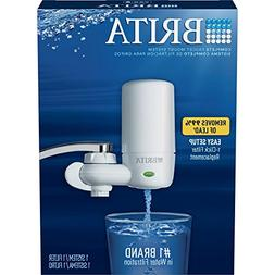 Brita On Tap Complete Water Faucet Filtration System with Li