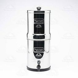 Travel BERKEY Water Filter System w/ 2 Black Filters FREE Sh