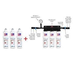 Triple / Food Service/Ice Machine Water Filter System Additi