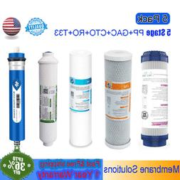 Under Sink 5 Stage 75 GPD for RO Water Reverse Osmosis Syste