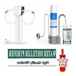 Under Sink & Countertop Water Pure Kit Water Filtration Syst