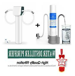 Under Sink + Countertop Water Pure Kit Water Filtration Syst