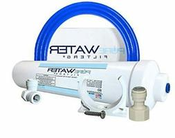 Under Sink Water Filter Install Kit, Complete Filtration Sys