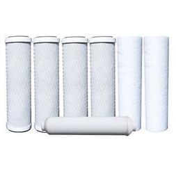 Universal 10 inch Carbon Block, Sediment, Inline Filter - Co