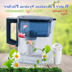 Water Filter Home Activated Carbon Jug Pitcher Purifier Heal