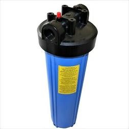 """Water Filter Housing Big Blue 4.5""""x 20"""" Pressure Cap Release"""