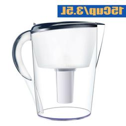 Water Filter Pitcher,15 Cup Large Capacity Multi-Stage Filte