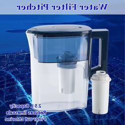 Water Filter Pitcher 3.5L Big Jug Dispenser Home Kitchen Coo