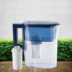 Water Filter Pitcher 2.5L Home Kitchen & Outdoor Reduce lime