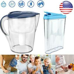 Water Filter Pitcher 5/15 Cup Capacity Dispenser Filtration