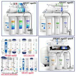Water Filter RO Systems Alkaline Mineral pH+ 75/100GPD 5/6-S