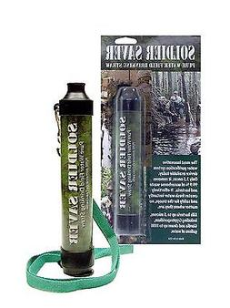 Water Filter Straw- 4-Stage -The Soldier Saver Personal Fiel