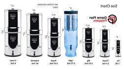 Berkey Water Filter System Big,Crown,Royal,Imperial,Light &T
