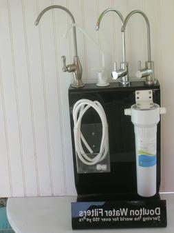 water filter undercounter system  with faucet