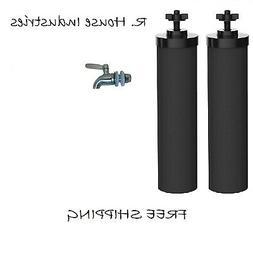 Berkey Water Filters 2 Black Replacement Stainless Steel Spi