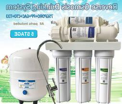 Water Pure 5 Stage Reverse Osmosis Water System Drinking Plu