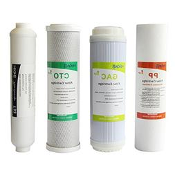 HiKiNS Reverse Osmosis Filter Replacement Set for Universal