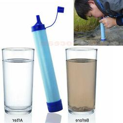 Water Straw Tube Filter Purifier Survival For Outdoor Campin