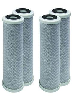 4-Pack Watts MAXETW-975 compatible 10-Inch 5-Micron for Mult