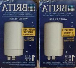 Brita White Faucet Replacement Water Filter Cartridges FR-20