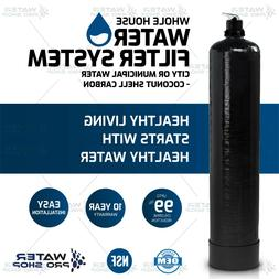 Whole House Water Filter System, City or Municipal Water - C